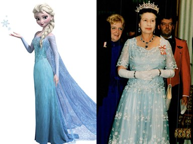 13 times Queen Elizabeth II's outfits channelled Disney Princesses