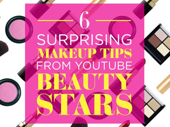 6 surprising makeup tips from YouTube beauty stars
