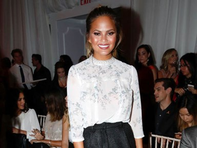 Chrissy Teigen begged NOT to lose weight for modelling gigs