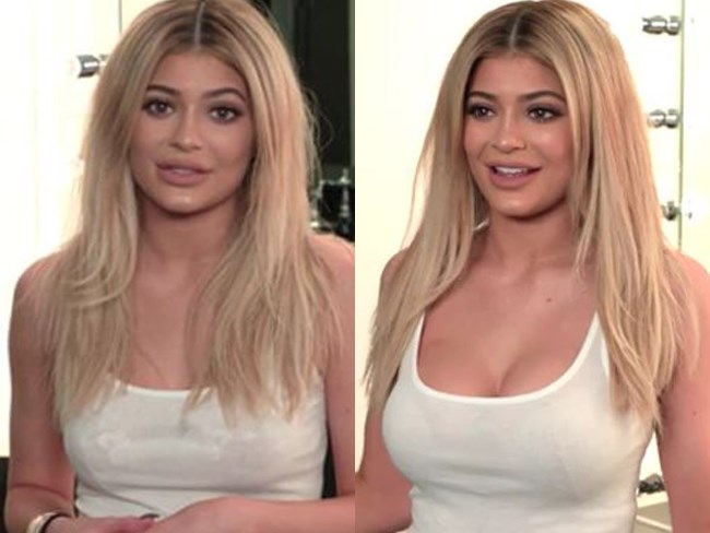 Kylie Jenner has dropped a bombshell about her boobies