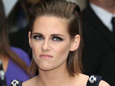 """Kristen Stewart admits her first kiss was """"f*cking repulsive"""""""