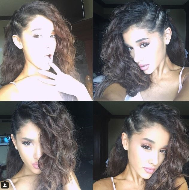 Ariana showed off her natural hair on Instagram and it's nothing short of GORGEOUS. Curls always get us girls on side.