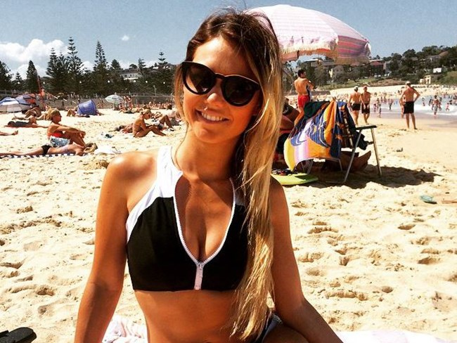 Sam Frost's body transformation