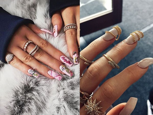 33 times Kylie Jenner's nails were on point