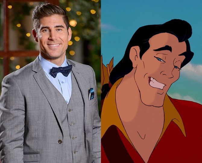 **1. Tony *IS* Gaston** We can't even deal.