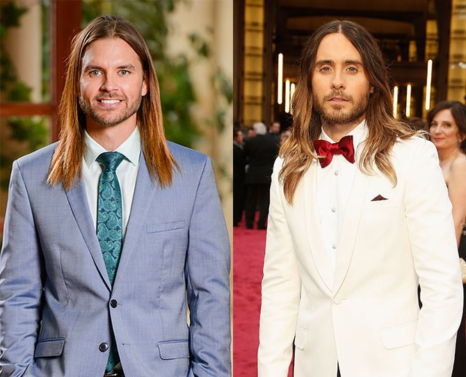 **3. Drew *IS* Jared Leto** Because, twinning hair. Ok, we get he's a gonner now but we've included him anyways. We're nice like that.** **
