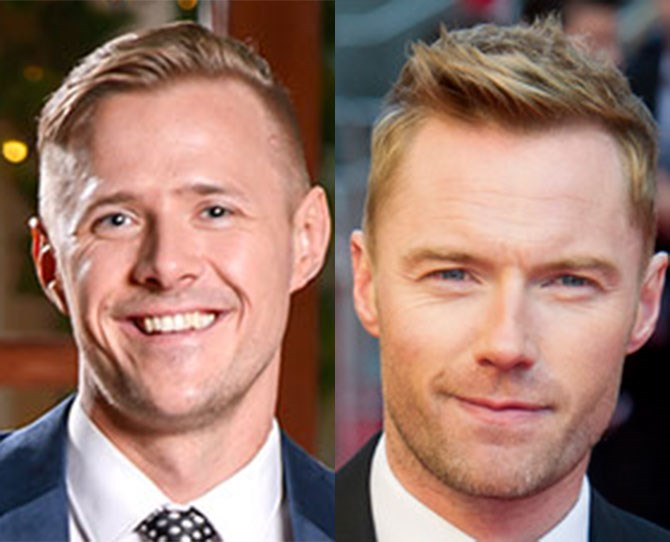 **4. Kieren *IS* Ronan Keating** Would ya just look at the way their eyes squinch up when they smile? N'AWWWW**. **