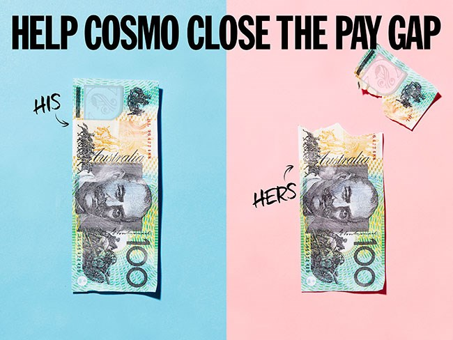Cosmo fronts national #equalpay campaign