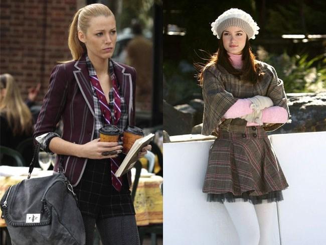 gossip girl fashion blair serena