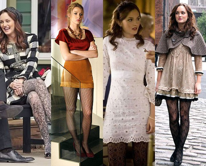 All the times they tried to make patterned tights happen.