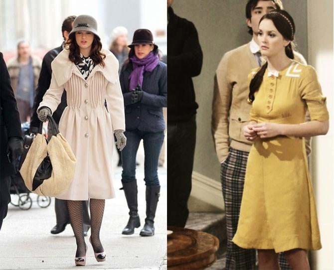 When Blair dressed like *Gossip Girl* was a period drama.
