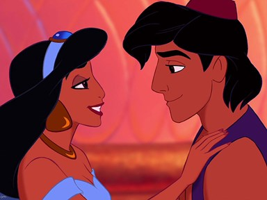 """After 23 years the original cast of Aladdin and Jasmine reunite to perform """"A Whole New World"""""""