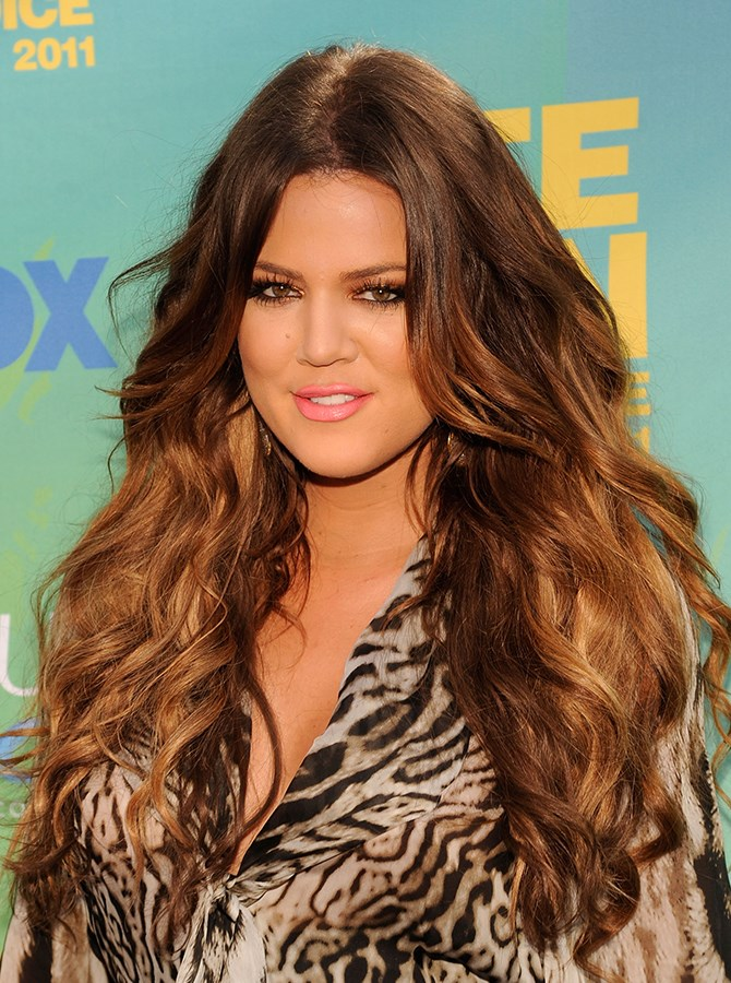 """The Most Lush Hair Award"" goes to you, Khloé."
