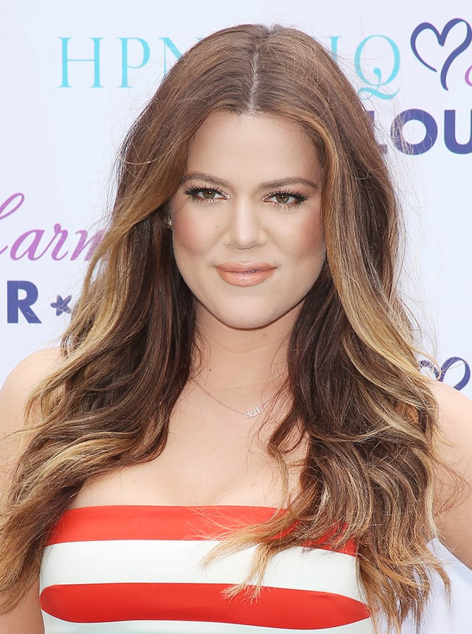 If you squint you might actually mistake Khloé for Isla Fisher... maybe.