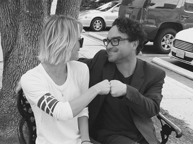 Big Bang Theory's Penny and Leonard shut down dating rumours in adorable way
