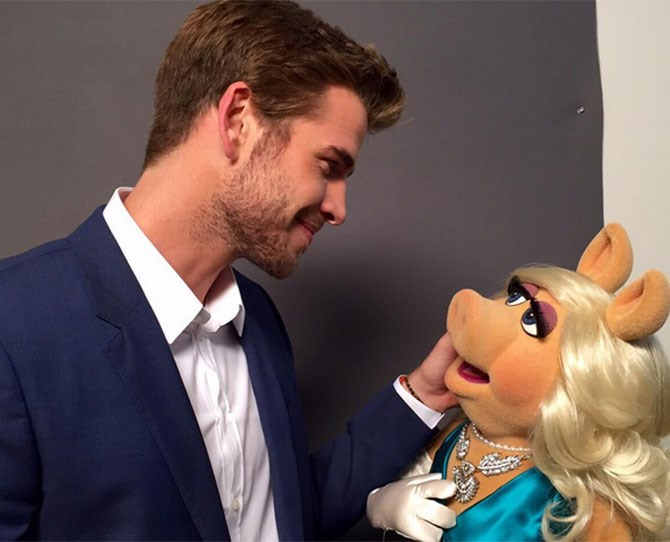 Could we BE any more jealous of Miss Piggy right now?
