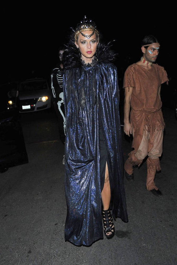 **Maleficent**  Well, we mean, depending what you're into. But it's more the modesty aspect of this costume that has us excited about it's non-sexiness. Rachel Zoe's version is a perfect example of how you can look cool AF on Halloween without getting your fun bags out.