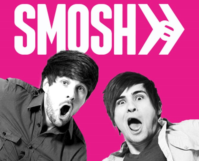 """**2. SMOSH  ** **WHO? **28 and 27-year-old manchildren who do Pokemon roleplay. The last laugh is on us though, because they're millionares... **  2015 EARNINGS: **AU$11.7 million **  HOW?  **Childhood best friends Ian Hecox and Anthony Padilla make up comedy group Smosh. They run five YouTube channels and released a feature length film: Smosh The Movie, in July.     [Smosh Youtube channel](https://www.youtube.com/channel/UCY30JRSgfhYXA6i6xX1erWg