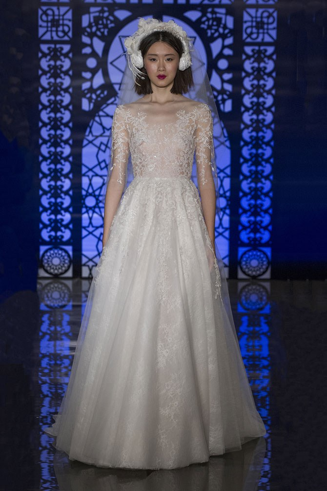 Reem Acra Bridal Fall/Winter 2016