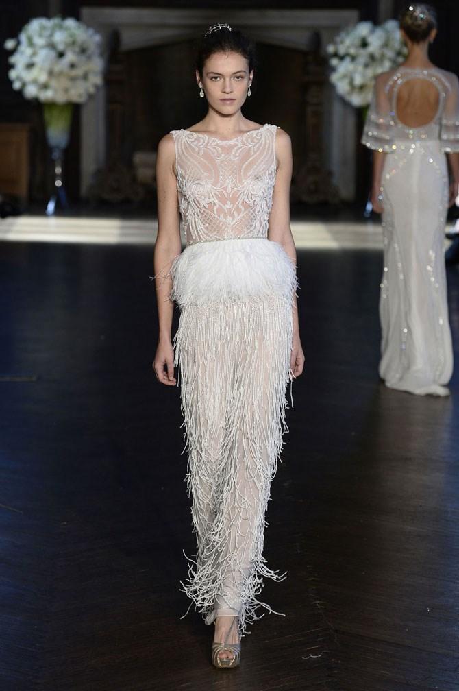 Alon Livne White Bridal Fall/Winter 2016