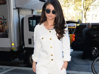 Selena Gomez wore 10 outits in two days.