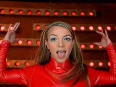 Watch Britney Spears deal with a wardrobe malfunction like the boss she is