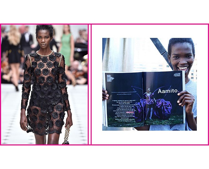 "**3. [Aamito Lagum](https://instagram.com/aamito_lagum/?hl=en|target=""_blank""), Africa's Next Top Model   *** Lagum won the first cycle of Africa's Next Top Model — which featured contestants from across the whole continent — at the beginning of 2014. So while she's still building out a big-leagues top-model career, all the omens are good, by which I mean that she is beyond beautiful, landed a nod as one of the fall 2015 season's best runway newcomers, and is shooting editorials in all of the cool fashion magazines."