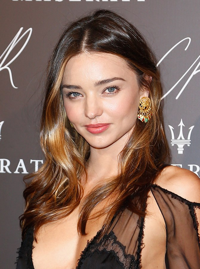9. Channel Miranda Kerr's just bitten vibes and pat a lip stain onto your lips (it doesn't need to be perfect) and apply a plumping balm over the top for an I-did-nothing-to-my-lips-except-pash-someone look.