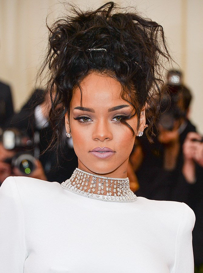 12. And Rihanna proves cooler-toned nude colours can look totally dope.