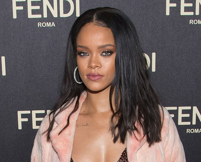 Riri's hair is much like a mood ring and nothing is *ever* off limits. One minute she's brunette...