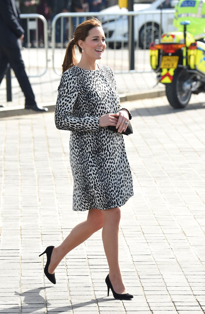 But make no mistake, this girl can rock a statement animal print just as well as the next princess.