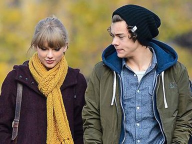 Taylor Swift says dating Harry Styles gave her anxiety