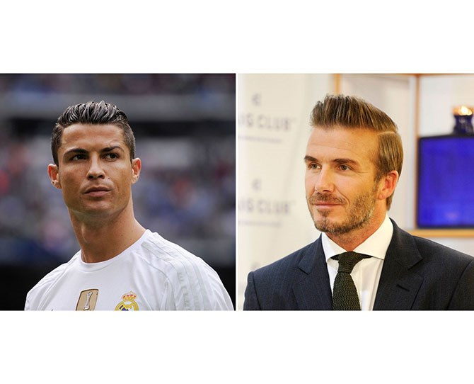 """4. Your Man Wants a Comb-Over   The man bun still has traction, and dudes are continuing topullup their long locks the way of Harry Styles, but another trend that's big right now is the comb-over, exemplified by Cristiano Ronaldo and David Beckham's cuts.     Source: [Cosmo US](http://www.cosmopolitan.com/style-beauty/beauty/news/a48463/google-beauty-trends-report-2015/
