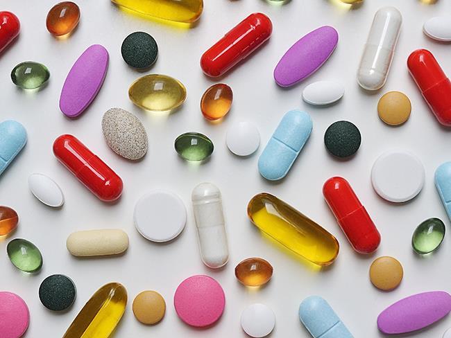 Roaccutane acne pills.