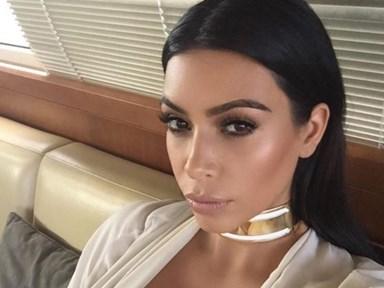 Kim Kardashian has revealed she sleeps in her makeup