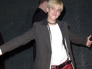 I bet you're wondering what Aaron Carter looks like now...