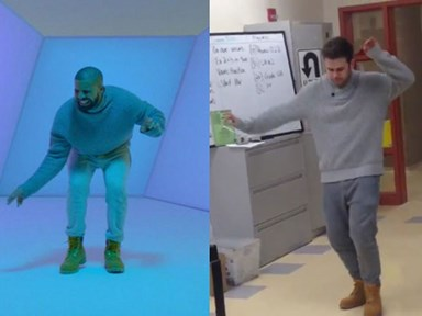 Math teacher does Drake better than Drake