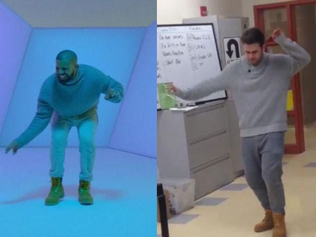 Math teacher does Drake better than Drake