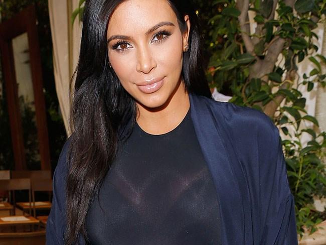 Kim Kardashian Karl Lagerfeld