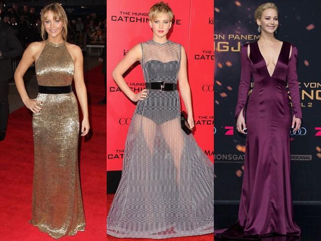 Jennifer Lawrence Hunger Games evolution