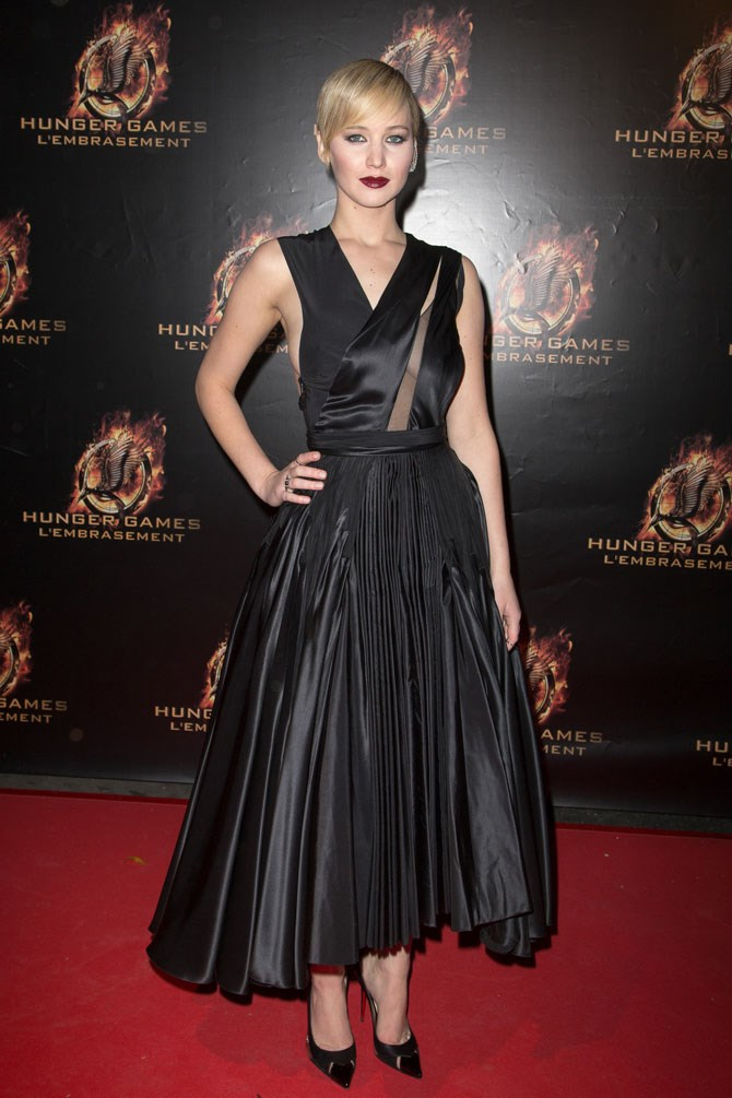Goth vibes at the 2013 Paris premiere had us seeing a new and gutsy side to the superstar actress.