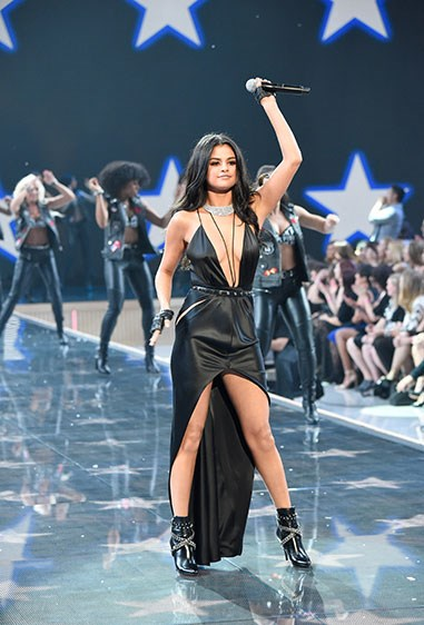Selena Gomez brought the house down... and not just with her music! Damn girl, you sure you're not a VS angel?