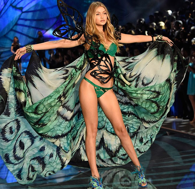 Gigi Hadid is literally the most beautiful butterfly we've ever seen.