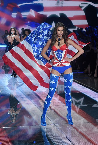 Well, Taylor Hill, that's ONE way to be patriotic…