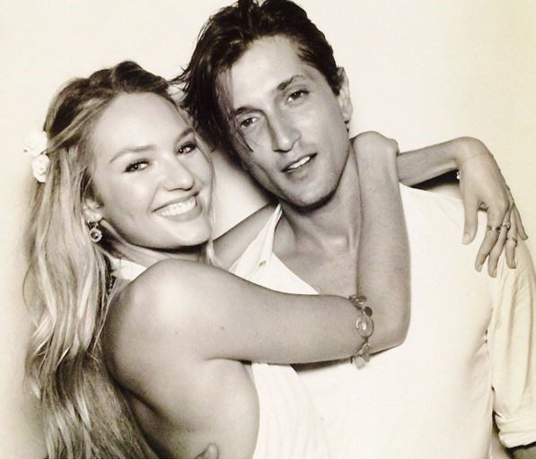 Candice Swanepoel has been with her beau, Hermann Nicoli, since she was 17 (and he was 26). That's TEN years of love and happiness between the two. Rumours are flying that the pair got engaged earlier this year, but nothing has been confirmed yet.