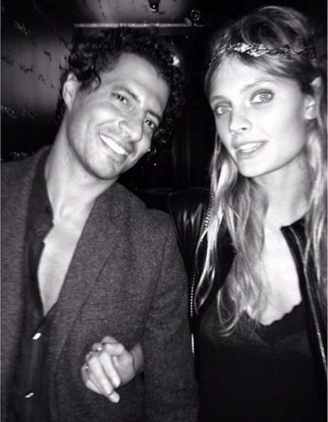 Constance Jablonski is dating a very tall, dark and handsom young man by the name of Imad Izemrane.