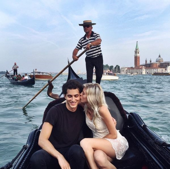 Devon Windsor has reportedly been dating singer, Fai Khadra, since 2014. The two do super couply things like jet over to Venice and Dubai to hang out with their pals, Kendall Jenner and Gigi Hadid. Whatevs.