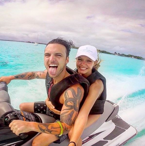 Josephine Skriver has been with her man, Alexander DeLeon since 2013. he is the lead singer of the band The Cab.