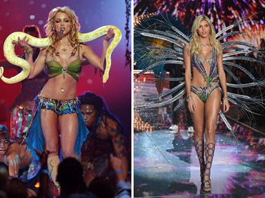 9 Victoria's Secret Fashion Show looks inspired by Britney Spears