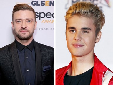Justin Bieber and Justin Timberlake are sharing the love big time